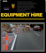 Click here for more information on Storm Traffic Managements Equipment Hire Services