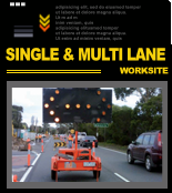 Click here for more information on Traffic Management of Single & Multi Lane Worksites